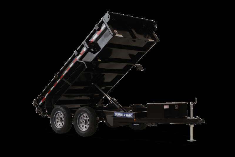 2021 SURE-TRAC 5x10 7k Dump Trailer - ST6210D-B-070
