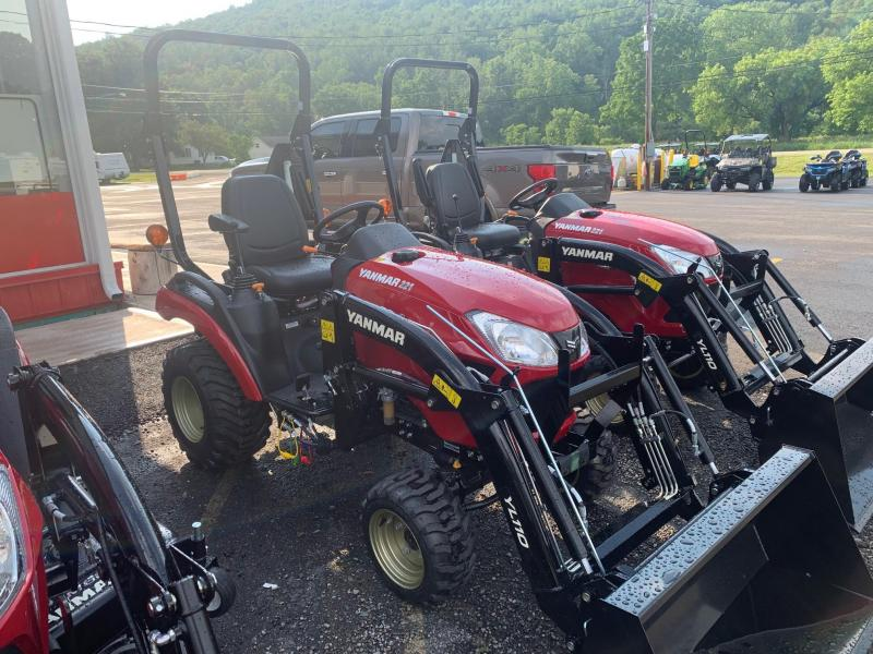 2021 YANMAR SA221 Tractor with FRONT LOADER - 10 Year Powertrain Warranty