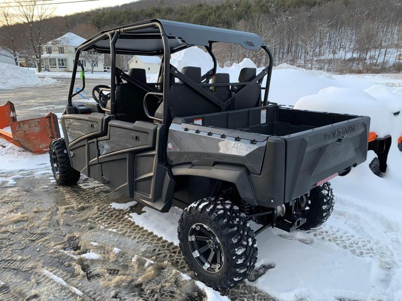 2021 INTIMIDATOR GC1K CREW STAGE 2 UTILITY SIDE-BY-SIDE (UTV) - ROOF - ALLOY WHEELS - POWER STEERING - POWER DUMP BED - MADE IN THE USA