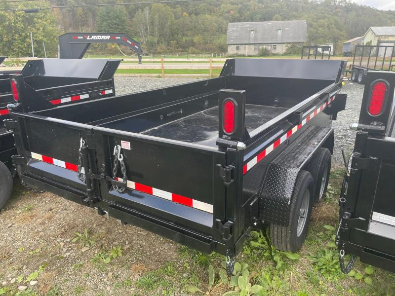 2022 SURE-TRAC 6x12 10k Dump Trailer - Ramps - Combo Gate - D-Rings - Bulkhead - ST7212D1R-B-100