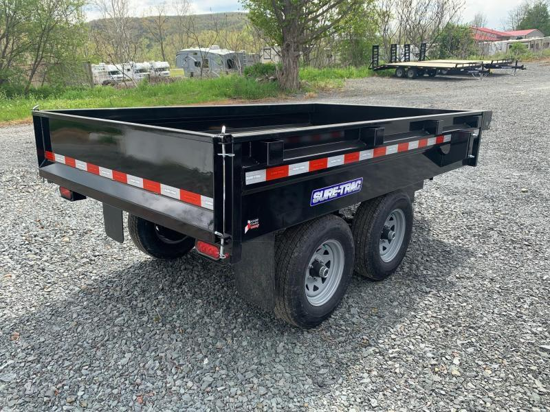 2021 SURE-TRAC 6x10 10k Deckover Dump Trailer - ST7210DOD-B-100