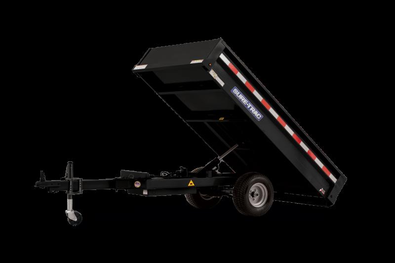 2021 SURE-TRAC 4.5x8 3k Utility Dump Trailer - ST5408D-B-030