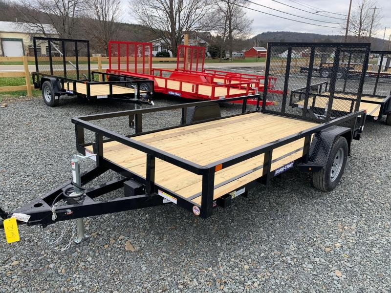 2020 SURE-TRAC 6x12 3.5k Tube Utility Trailer with Electric Brakes - ST7212TA-B-035