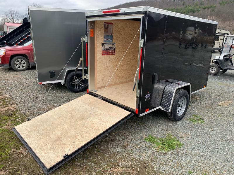 2021 LOOK ST DLX 5x10 3k Cargo / Enclosed Trailer with Ramp - STLC5X10SI2DLX