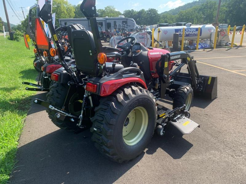 """2021 YANMAR SA424 Tractor with FRONT LOADER and 60"""" MID MOUNT MOWER - 10 Year Powertrain Warranty"""