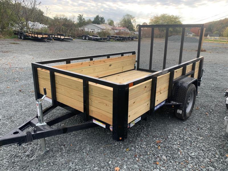 2021 SURE-TRAC 6x10 3k 3-Board High Side Utility Trailer - ST7210HST-B-030