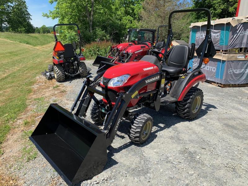 "2020 YANMAR SA221 FRONT LOADER 48"" BUCKET - Tractor"