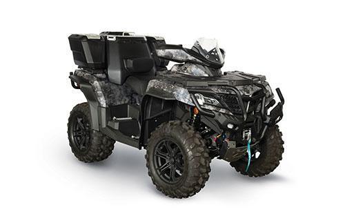 2021 CFMOTO CFORCE 1000 OVERLAND ATV - HANDGUARDS - WINDSCREEN - POWER STEERING - WINCH - CARGO BOX - CAMO - DUE NOV-JAN
