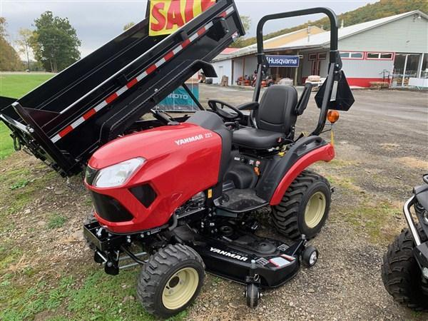 "YANMAR SA221 Tractor with 60"" Mower Deck - SA221BI-D"