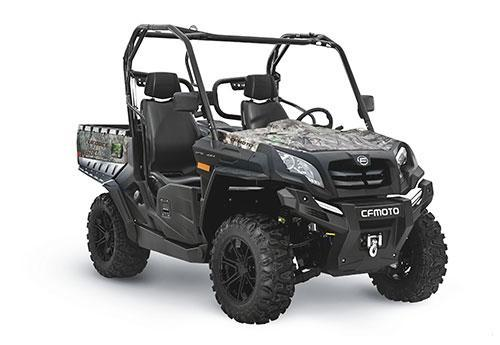 2021 CFMOTO UFORCE 800 Utility Side-by-Side (UTV) - ROOF - POWER STEERING - WINCH - ALLOY WHEELS