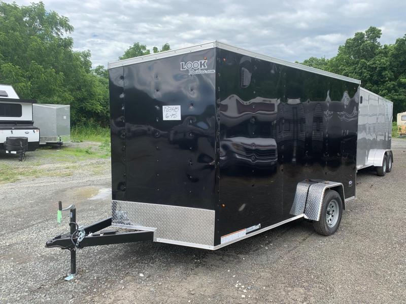 2021 Look Trailers ST DLX 7x12 3.5k - Cargo / Enclosed Trailer - STLC7X12SE2DLX
