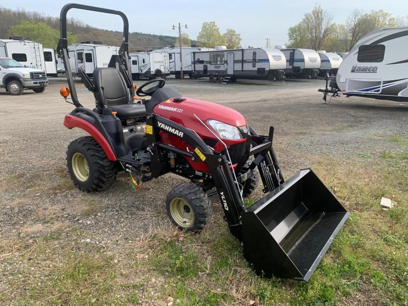 2021 YANMAR SA221 Tractor with Loader and Bucket - 10 Year Powertrain Warranty
