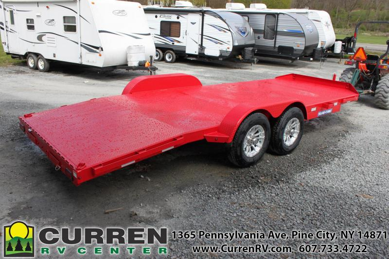 2021 SURE-TRAC 7X20 10K Steel Deck Car Hauler - ST8220CHS-B-100