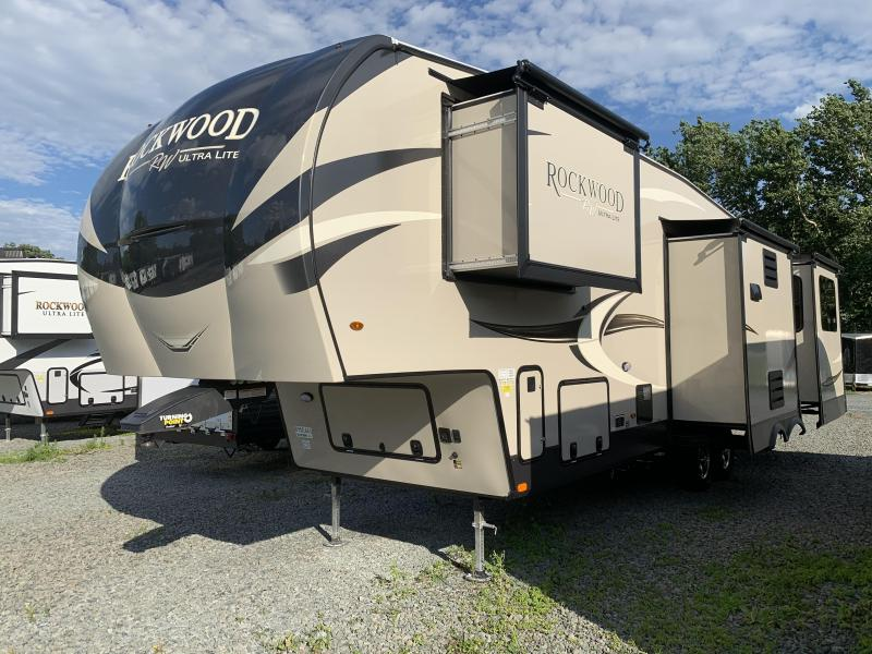 2021 Forest Ricer ROCKWOOD ULTRA LITE 2898KS Fifth Wheel Camper