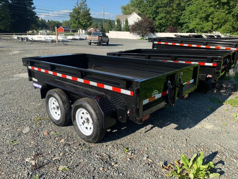 2021 SURE-TRAC 5x10 7k Dump Trailer - Barn Door - Setback Jack - Tarp Mounting Prep - Spare Tire Mount - Stake Pockets - D-Rings - ST6210D-B-070