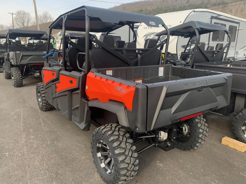 2021 INTIMIDATOR GC1K CREW STAGE 2 UTILITY SIDE-BY-SIDE (UTV) - ROOF - ALLOY WHEELS - POWER STEERING - POWER DUMP BED - SEATS 6 - MADE IN THE USA