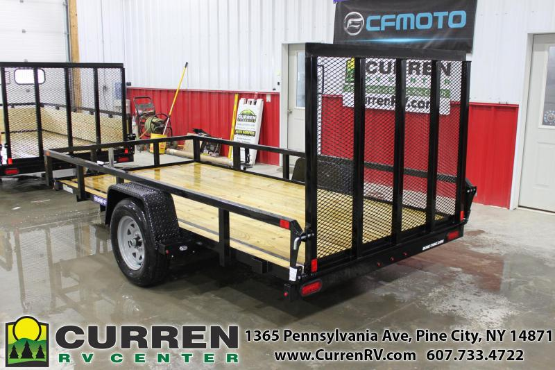 2021 SURE-TRAC 6x12 3k Tube Top Utility Trailer - ST7212TA-B-030