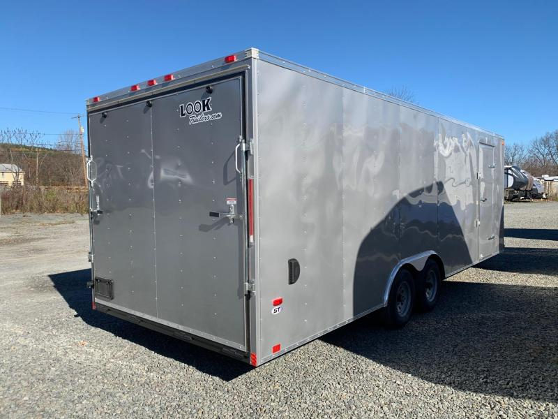 2021 LOOK ST 8.5x20 10k Enclosed Car Trailer - 7 ft Interior - ST85X24TE3