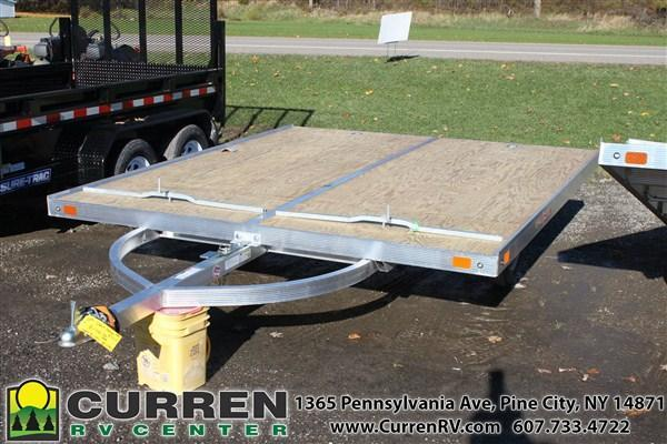 2019 SPORT HAVEN 8.5x10 Tilt Snowmobile Trailer - AOS1085