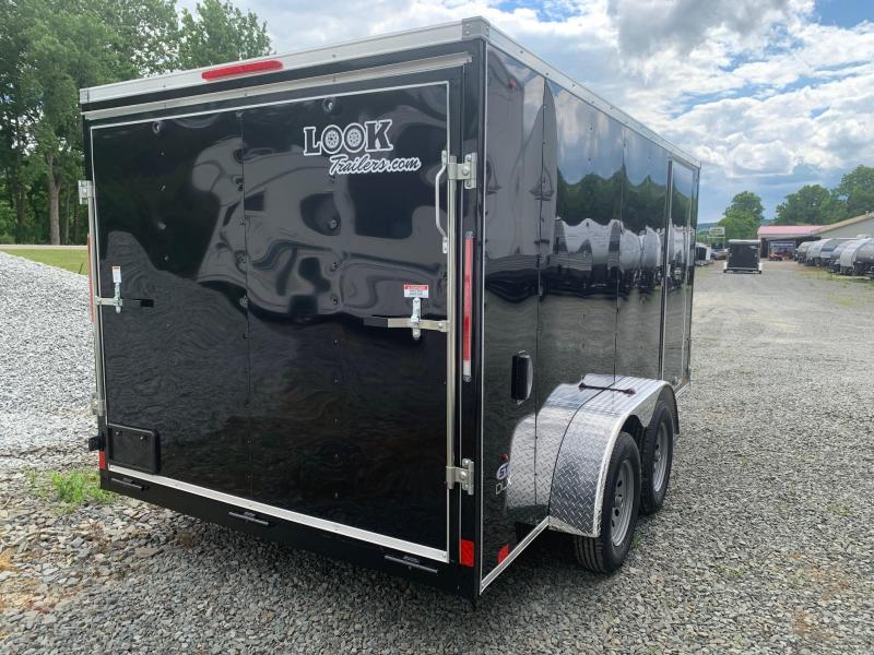 2021 Look Trailers LOOK ST DLX 7x14 7k - Cargo / Enclosed Trailer - STLC7X14TE2DLX