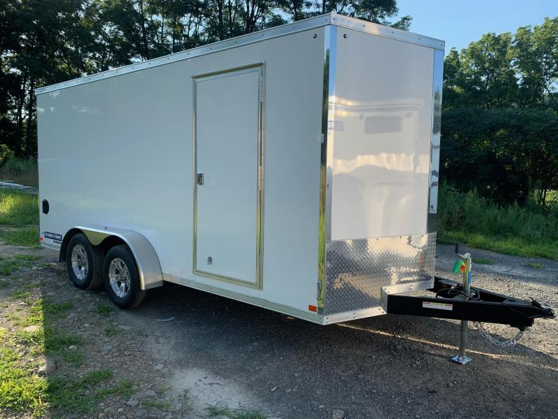 2020 SURE-TRAC PRO SERIES WEDGE 7x16 Cargo / Enclosed Trailer - STW8416TA