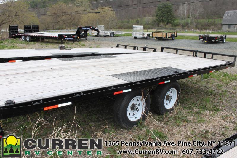 2019 SURE-TRAC 8.5x18 10k Deckover Equipment Trailer - ST10218TDO2A-B-100