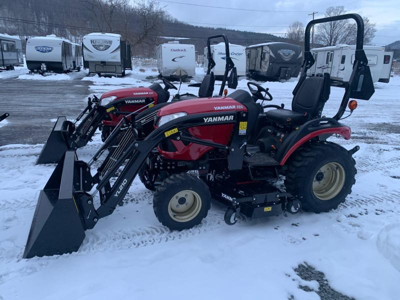 "2020 YANMAR SA324 Tractor - Front Loader with 53"" Bucket - Mid Mount Mower - 10 Year Powertrain Warranty"