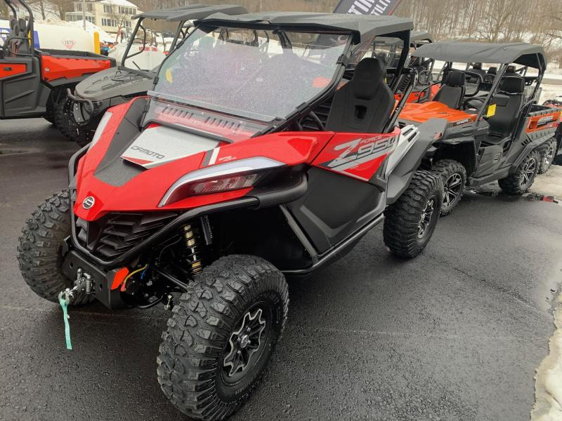2020 CFMOTO ZFORCE 950 SPORT Side-by-Side - ALLOY WHEELS - ROOF - WINCH - POWER STEERING - Rock-A-Billy Edition - 30 inch Aggressive Tires - Vent Windshield - Rear Window - Lower Door Inserts