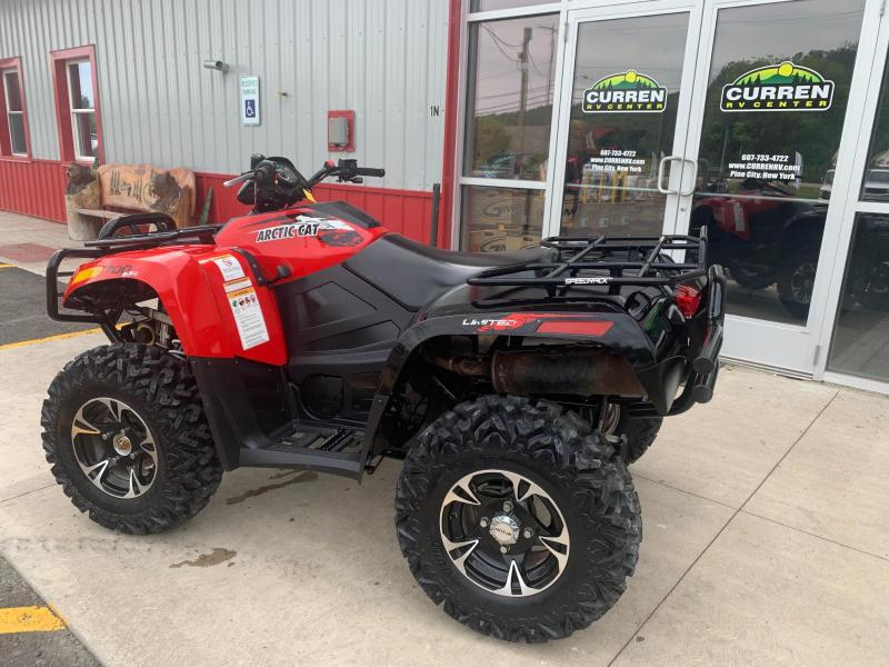 2014 ARCTIC CAT 700 LIMITED UTILITY ATV - Aluminum Wheels - New Sedona Rip Saw Tires - Winch