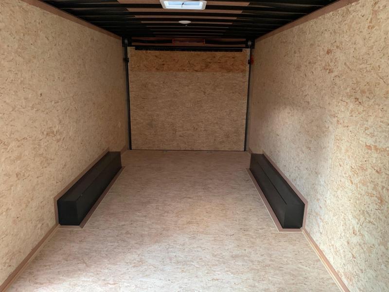 2021 Look Trailers Element SE 8.5x20 10k Enclosed Car / Cargo Trailer - Black & Charcoal - EWLC85X20TE3SE