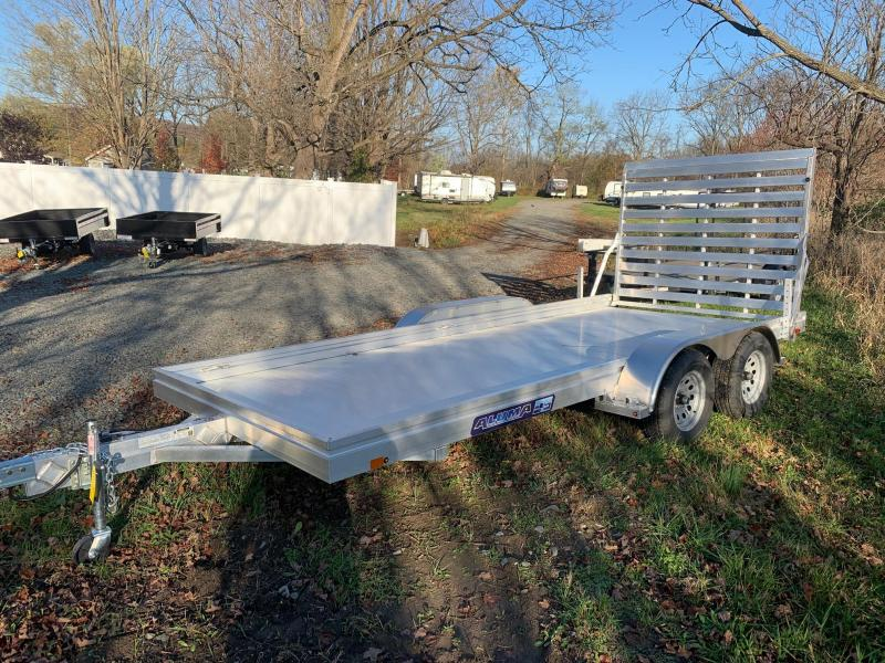 2021 Aluma 6.5x16 7k Aluminum Deck Utility Trailer - 7816TR ESR