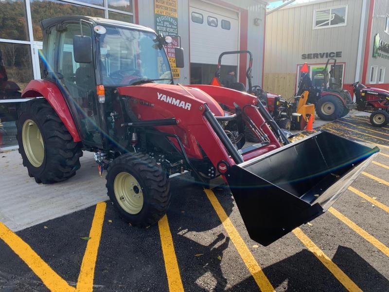 2020 YANMAR YT347C CAB & LOADER Tractor