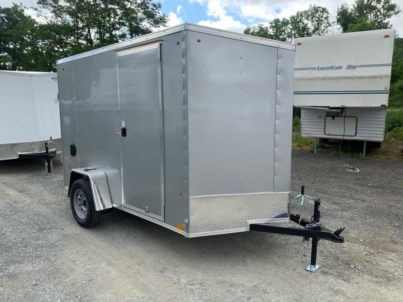 2021 Look Trailers ST DLX 6x10 - 6.5 Ft Interior Height - Cargo / Enclosed Trailer - STLC6X10SE2DLX