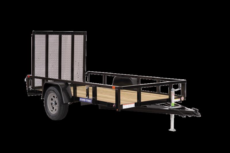2021 SURE-TRAC 6x10 3k Tube Top Utility Trailer - ST7210TA-B-030