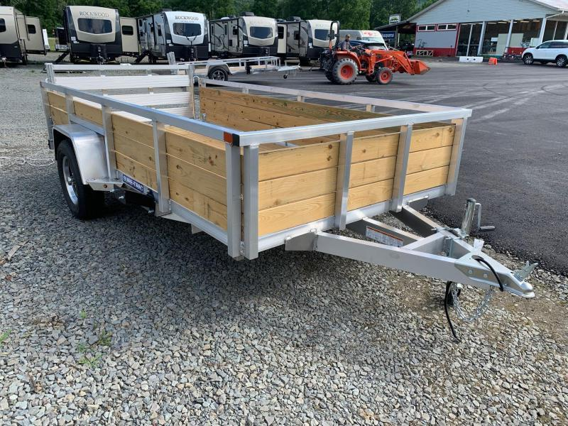 2020 SURE-TRAC 6x12 Aluminum 3 Board High Side Utility Trailer - ST7212WS-A-030