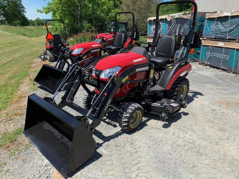 "2020 YANMAR SA221 60"" MID MOWER & FRONT LOADER 48"" BUCKET - Tractor"