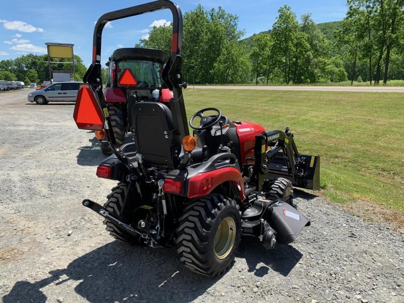 "2020 YANMAR SA221 60"" MID MOWER & FRONT LOADER 48"" BUCKET - Tractor"