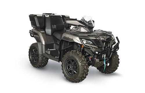 2021 CFMOTO CFORCE 1000 OVERLAND ATV - HANDGUARDS - WINDSCREEN - POWER STEERING - WINCH - CARGO BOX - DUE NOV-JAN