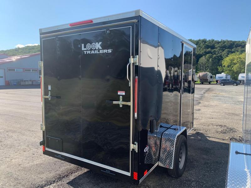 2022 LOOK ST DLX 6x10 3.5k Cargo / Enclosed Trailer - Ramp - 6.5 ft Interior Height - Electric Brakes - STLC6X10SE2DLX