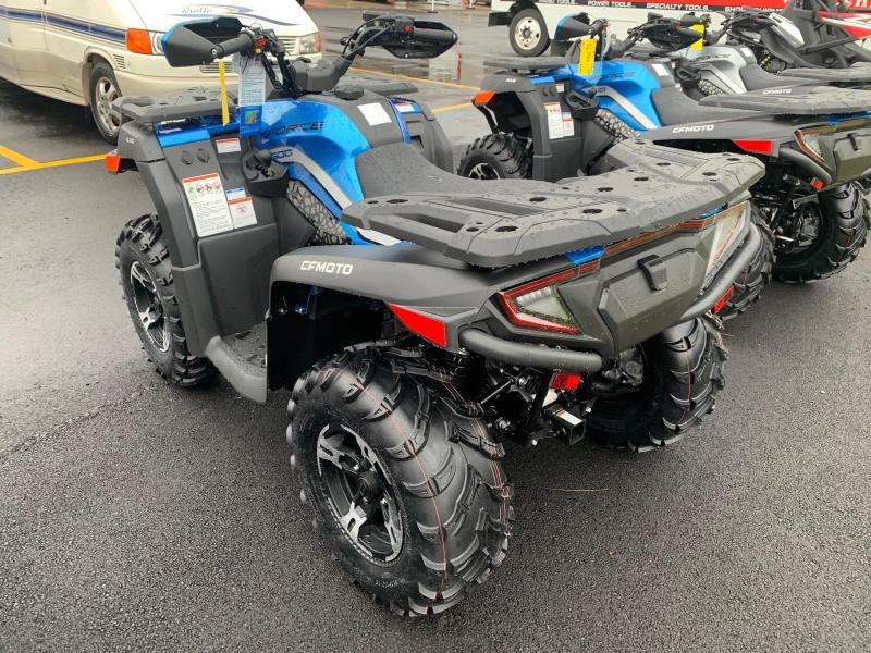 2021 CFMOTO CFORCE 600 ATV - POWER STEERING - WINCH - ALLOY WHEELS