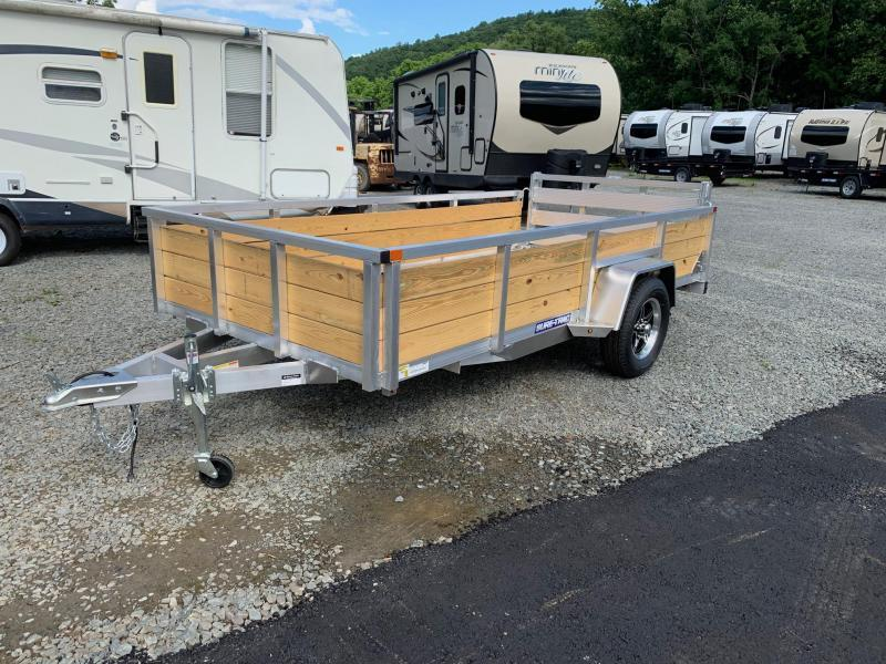 2021 SURE-TRAC 6x12 3k 3-Board High Side Aluminum Utility Trailer - ST7212WS-A-030