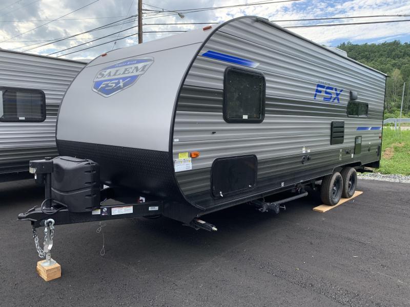 2021 Forest River Salem FSX 190RT Toy Hauler Travel Trailer