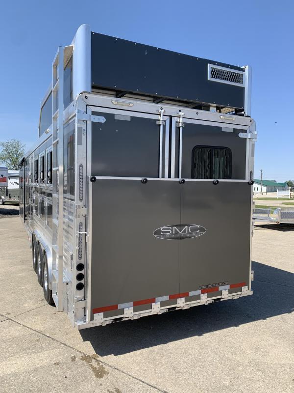2022 SMC Horse Trailers SLE8414SSR Horse Trailer