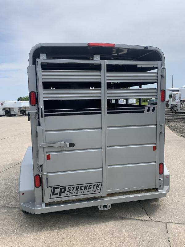 2022 CornPro SB12 6s Bumper Pull Livestock Trailer