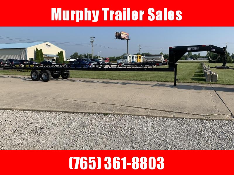 2021 May Trailers 42' Heavy Duty Inline Hay / Forage