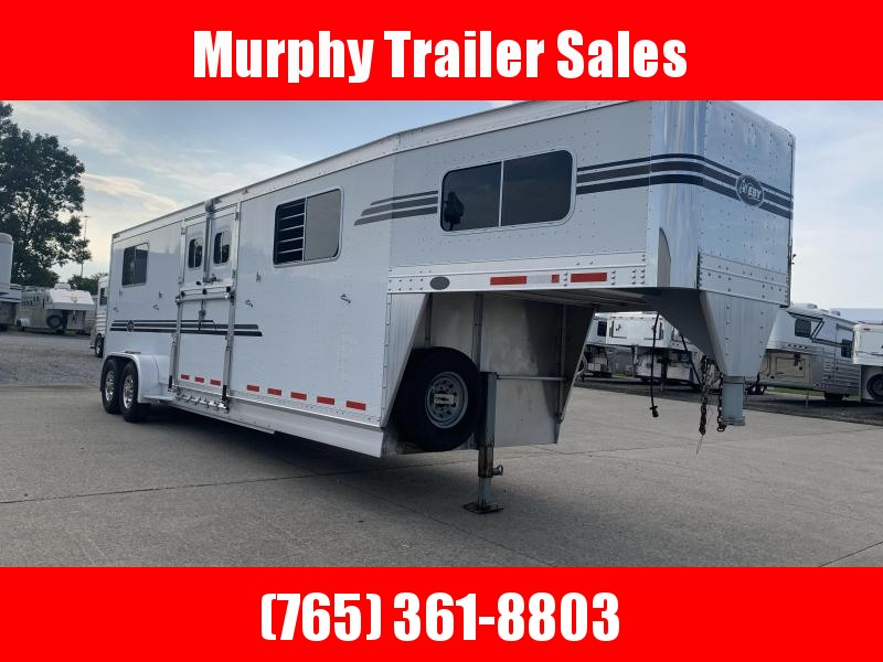 2009 EBY Victory Series 4 Horse Head to Head Horse Trailer