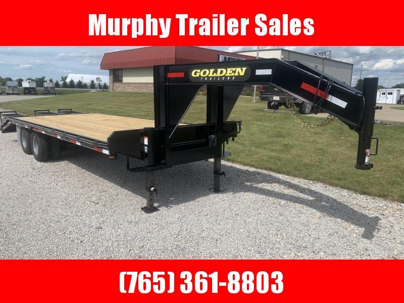 2021 Golden 20+5 20000# Flatbed Equipment Trailer