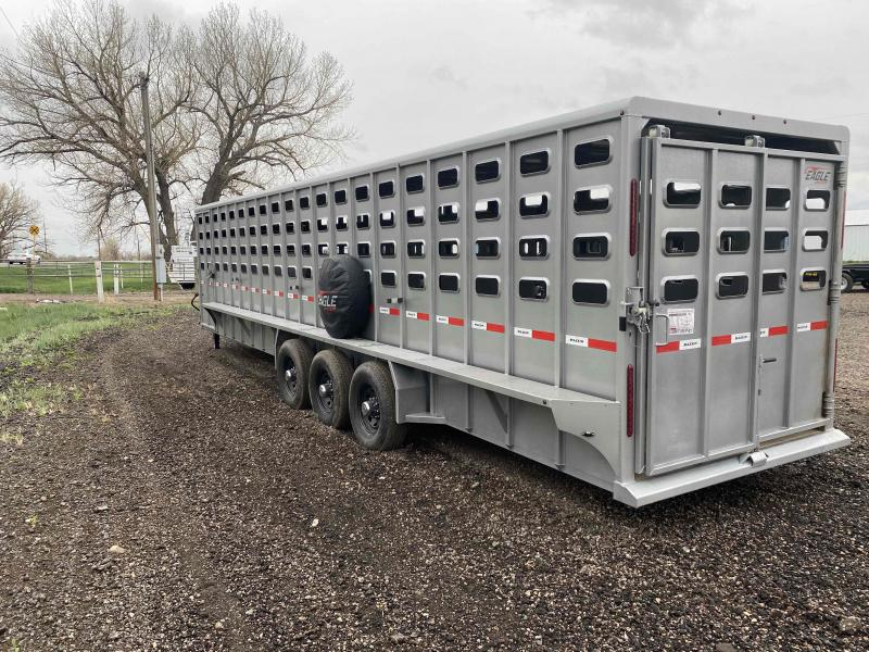 2021 Maxxim Industries 32x6.8 Livestock Livestock Trailer