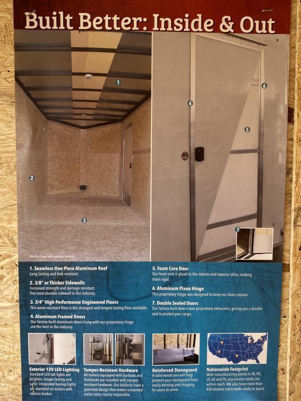 2022 Look Trailers Element Cargo Flat  Cargo / Enclosed Trailer