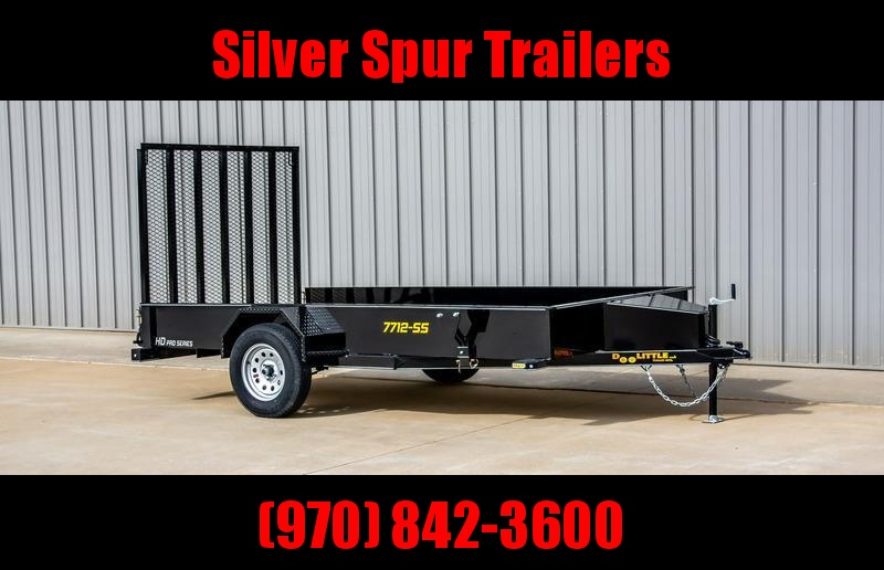2021 Doolittle Trailer Mfg 77x12SS Utility Trailer